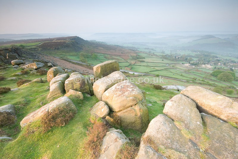 Landscape Photography from Curbar Edge | Peak District Photographs