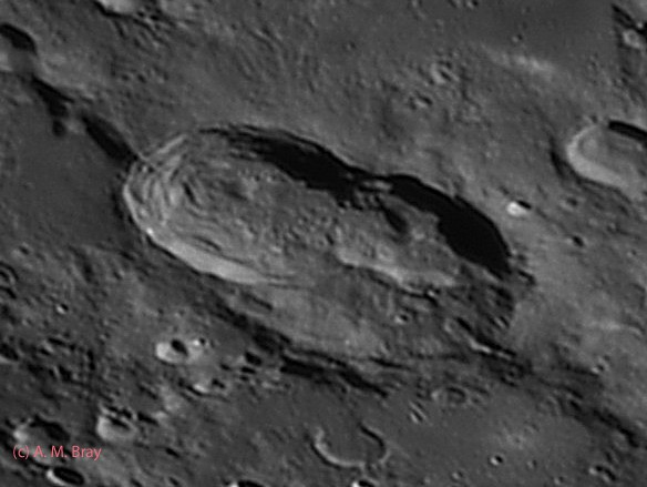Hainzel, the giant peanut imprint... - Moon: South West Region