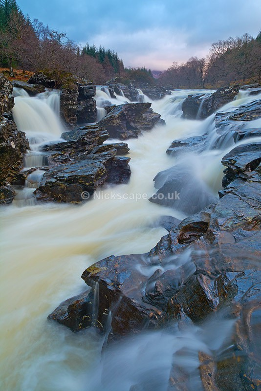 Glen Orchy Waterfall | Images from the Scottish Highlands