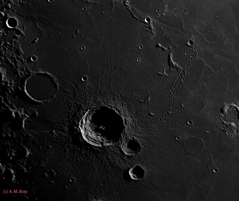 Bullialdus and Mare Nubium - Moon: South West Region