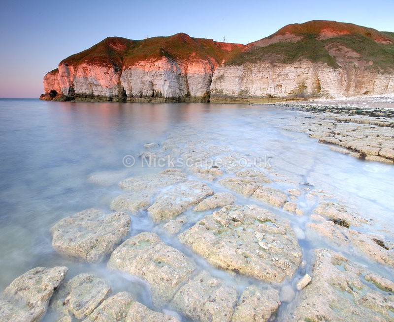 Evening light at Thornwick Bay | Yorkshire Photography Gallery