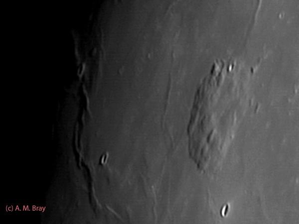 Mons Rumker, Volcanic Formation - Moon: North West Region
