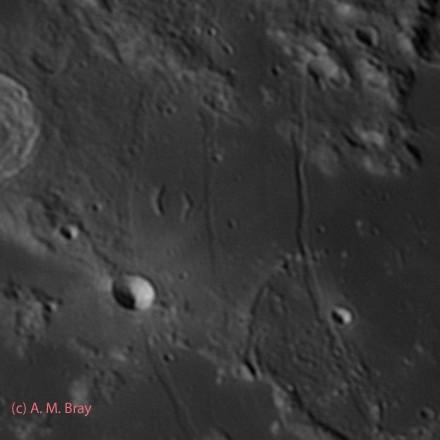 Hippalus Rimae - Moon: South West Region