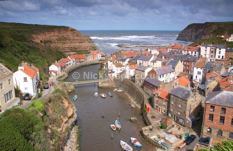 Popular Fishing Village of Staithes on the Yorkshire Coast   Landscape Photography by Nick Cockman