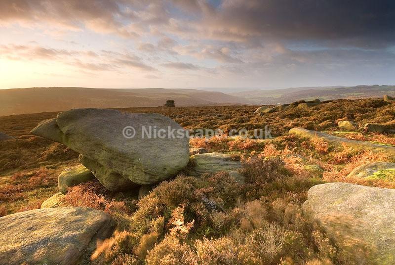 Over Owler Tor - Peak District - Derbyshire98 - Peak District Landscape Photography Gallery