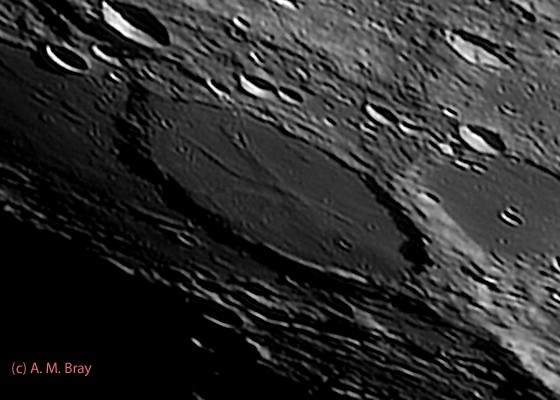 Wargentin, Basalt Plateau - Moon: South West Region