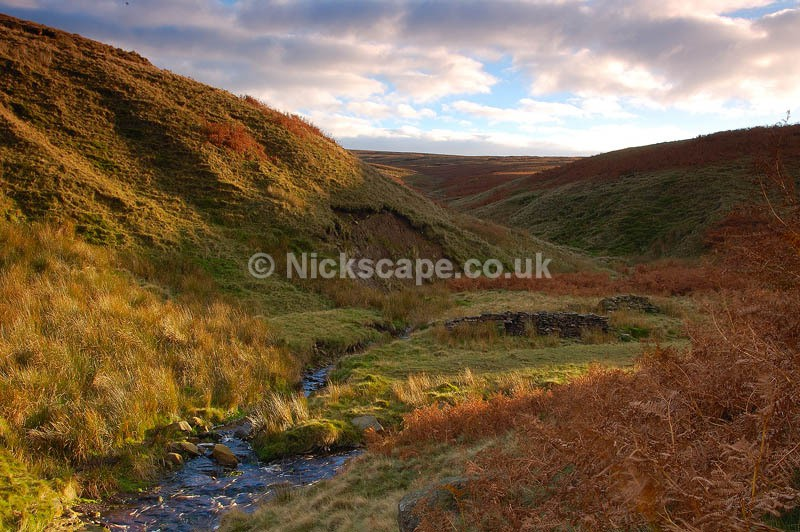 Shiny Brook Clough | Jopes Moses | Yorkshire Landscape Photography