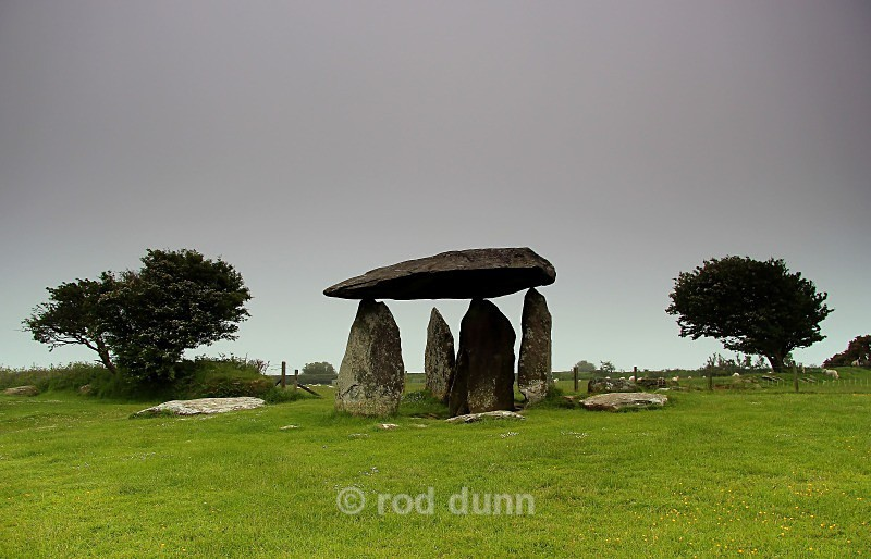 Pentre Ifan megalith - Wales