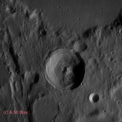 Herschel - Moon: Central Region