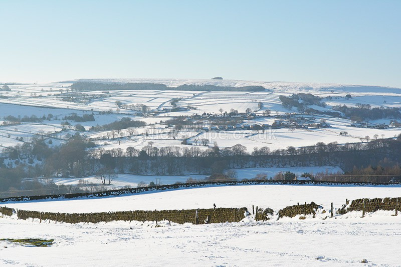 Snow in the Peak District - Loxley Valley - Yorkshire