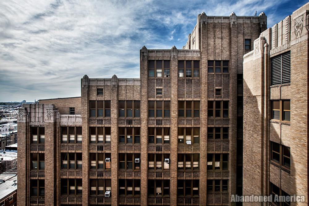 Bok Technical School (Philadelphia, PA) | Stepped Rooftop - Edward M. Bok Technical School