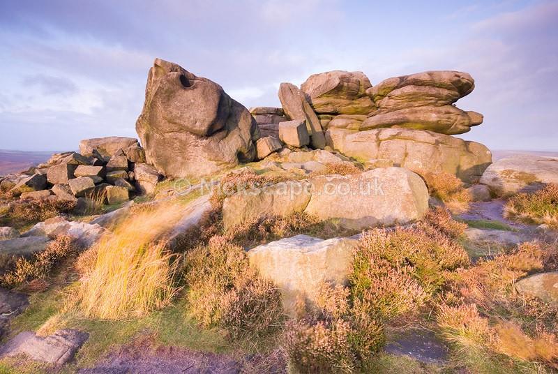 Over Owler Tor Gristone Rock Formation Fine Art | Peak Park Landscape Photography