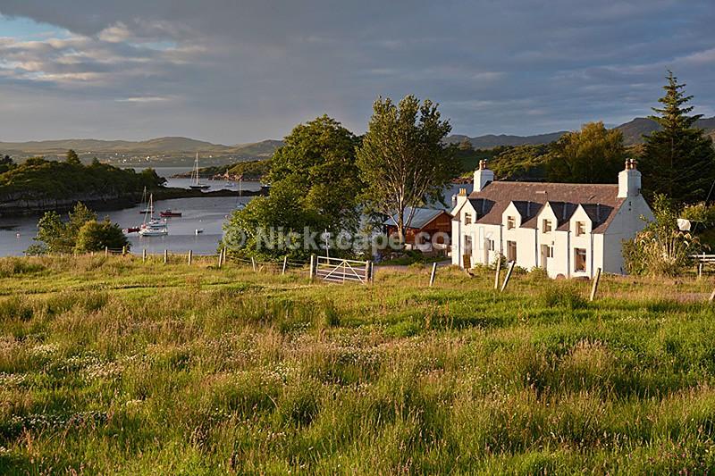 Badachro Village - Loch Gairloch - Scottish Highlands - Scotland